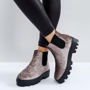 ASOS Arena Chunky Chelsea Boots